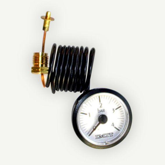 Manometer klein, Ø 37 mm, 0-4 bar