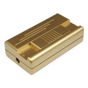 Mobiler Schnurdimmer mit Schieberegler T25.01, 400VA, gold