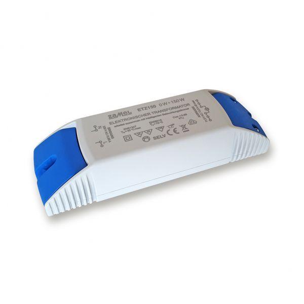 Elektronischer NV-Halogentrafo VDE, 150 W, 11,5 V, für Phasenan- und abschnittsdimmer