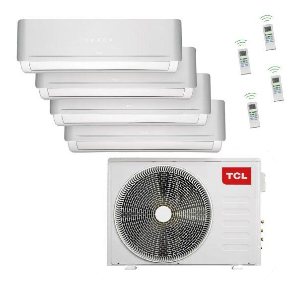 Quattro Split-Klimaanlage 36.000 BTU A++/A+, ohne Quick Connection
