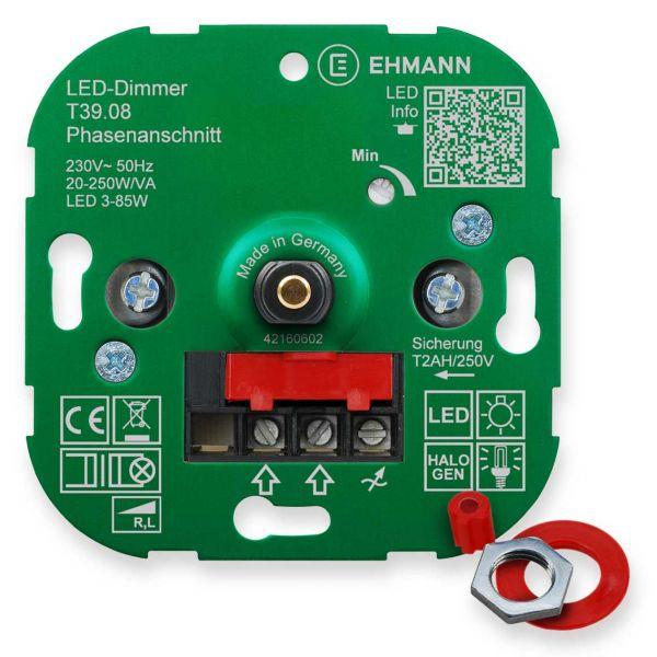Perfekt LED UP Phasenanschnitt Dimmer T39.08, Für Dimmbare LED Lampen,  Druck Wechsel Schalter 250W
