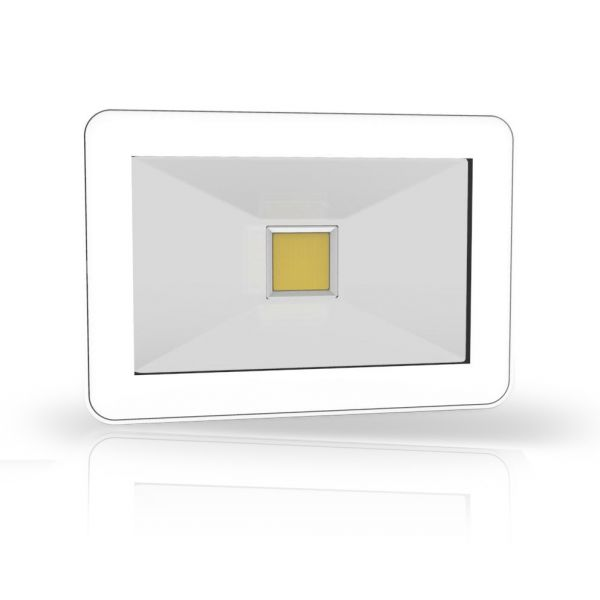 Design LED Fluter LEDmaxx 20W, 6500K, 230V, weiß, IP65