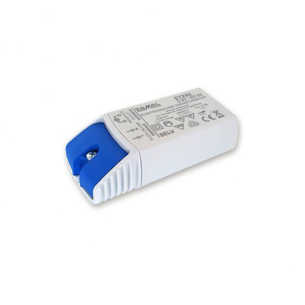Elektronischer NV-Halogentrafo VDE, 60 W, 11,5 V, für Phasenan- und abschnittsdimmer