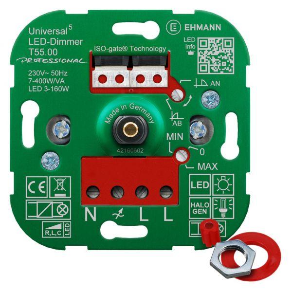 LED-Universaldimmer T55.00 professional mit ISO-gate Technologie