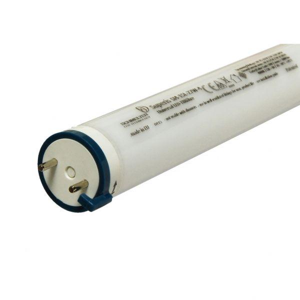 Universal LED-Röhre T8 SUPERIS SI4, 20W, 2220lm, 6000K kaltweiß, 1197x26mm, matt