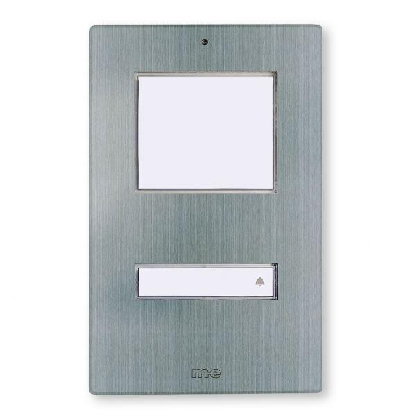 LED Klingeltaster 1-Familienhaus KT1-EG, Edelstahl gebürstet