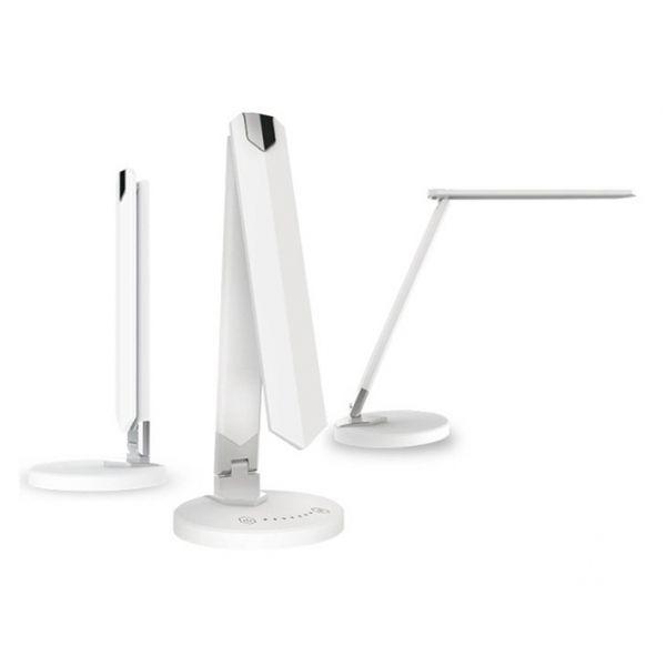 LED Design-Tischlampe LEDmaxx weiß, mit Touch-Bedienung, dimmbar