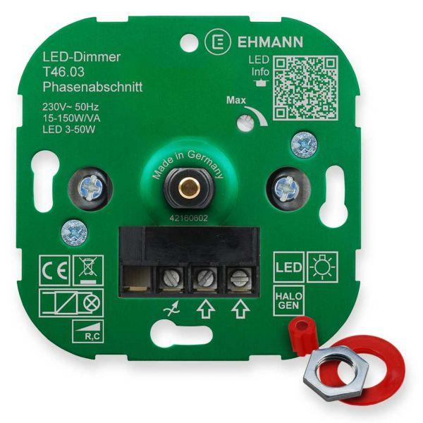 LED UP-Phasenabschnitt-Dimmer T46.03, für dimmbare LED-Lampen ...