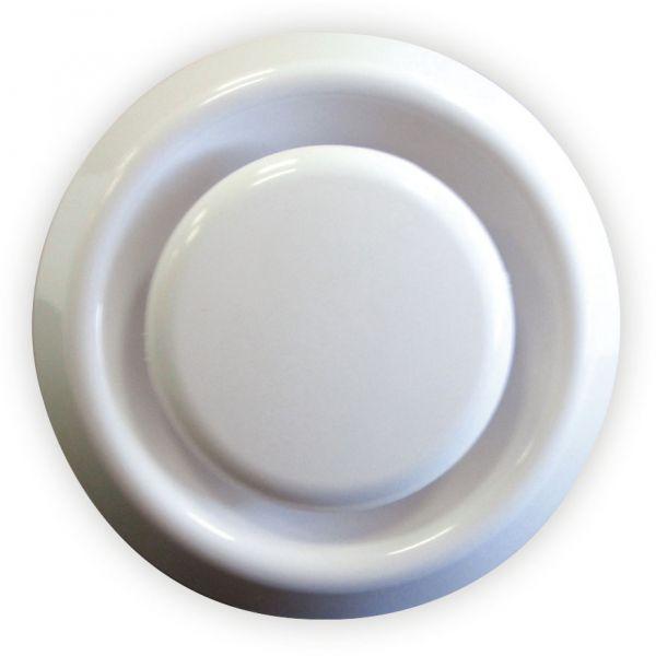Tellerventil für Rohr-Ø 100 mm