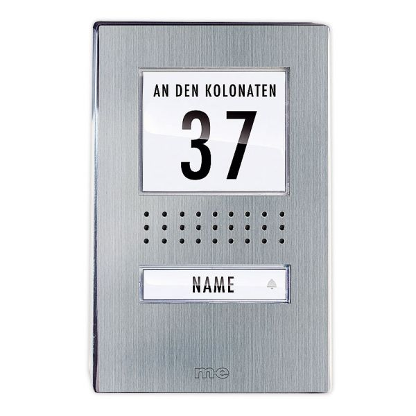 Audio-Türsprechanlage Außenstation AP, 1-Fam.Haus, Edelstahl, ADV-110.1 EG