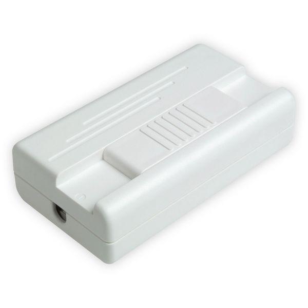 Mobiler Schnurdimmer mit Schieberegler T25.01, 400VA, weiß