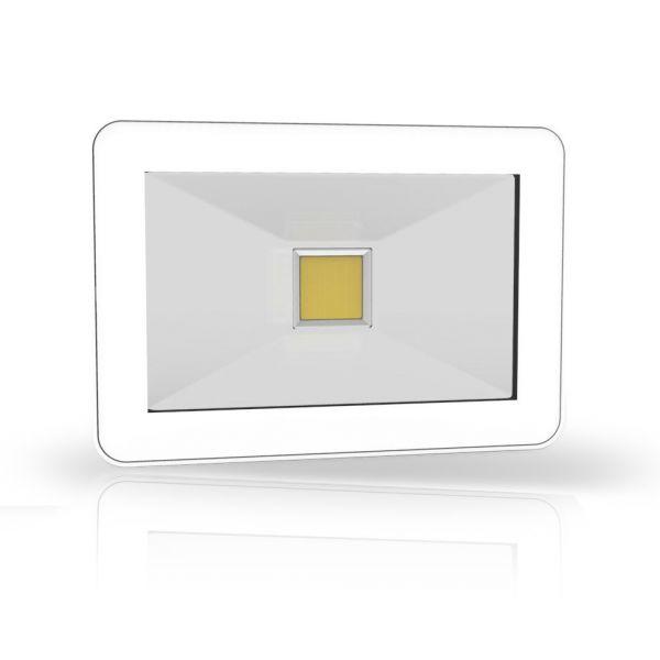 Design LED Fluter LEDmaxx 20W, 3000K, 230V, weiß, IP65